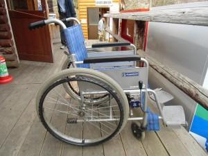 【おしらせ】うめ祭り期間中の車椅子貸し出しについて