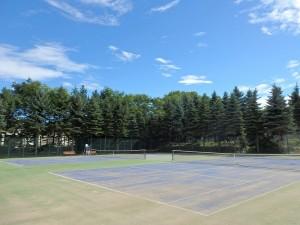 平岡公園テニスコートの開放予定日について