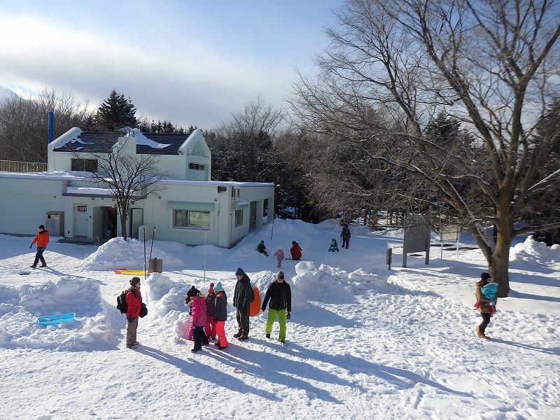 冬休み平岡公園にぎわいフェスタ開催しました!