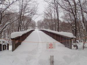 梅の香橋通行禁止