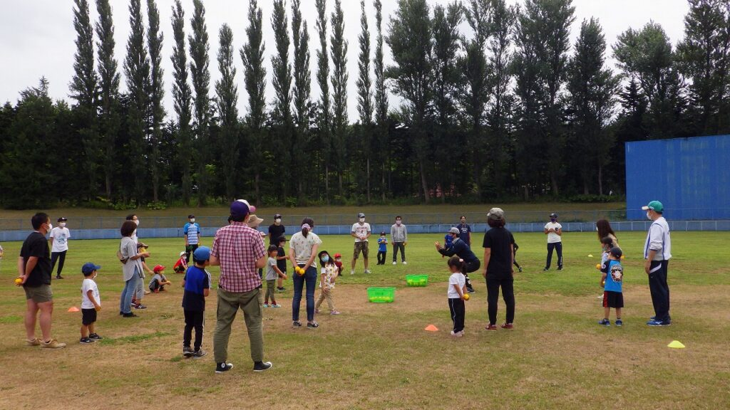 ベースボール体験イベント開催しました!